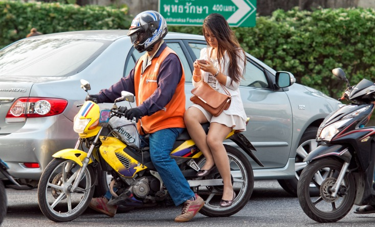 Over 23,000 new motorcycles register to operate as taxis in Bangkok during 2nd registration period